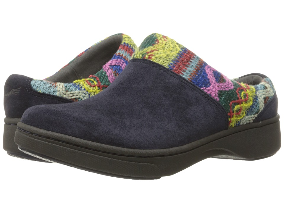Dansko - Brittany (Navy Suede) Women's Shoes