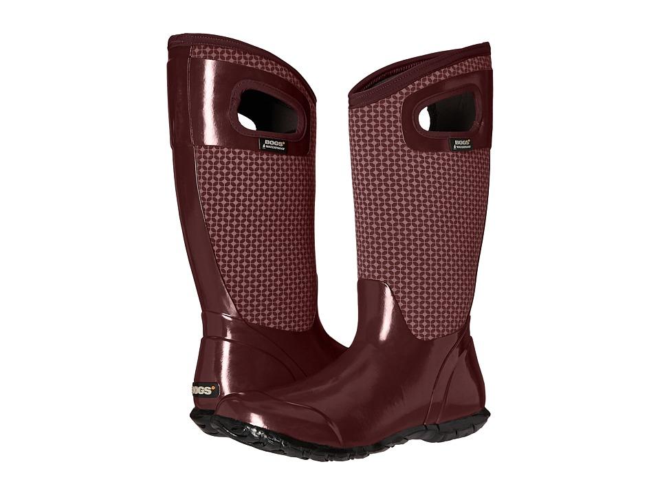 Bogs - North Hampton Cravat (Eggplant Multi) Women's Waterproof Boots