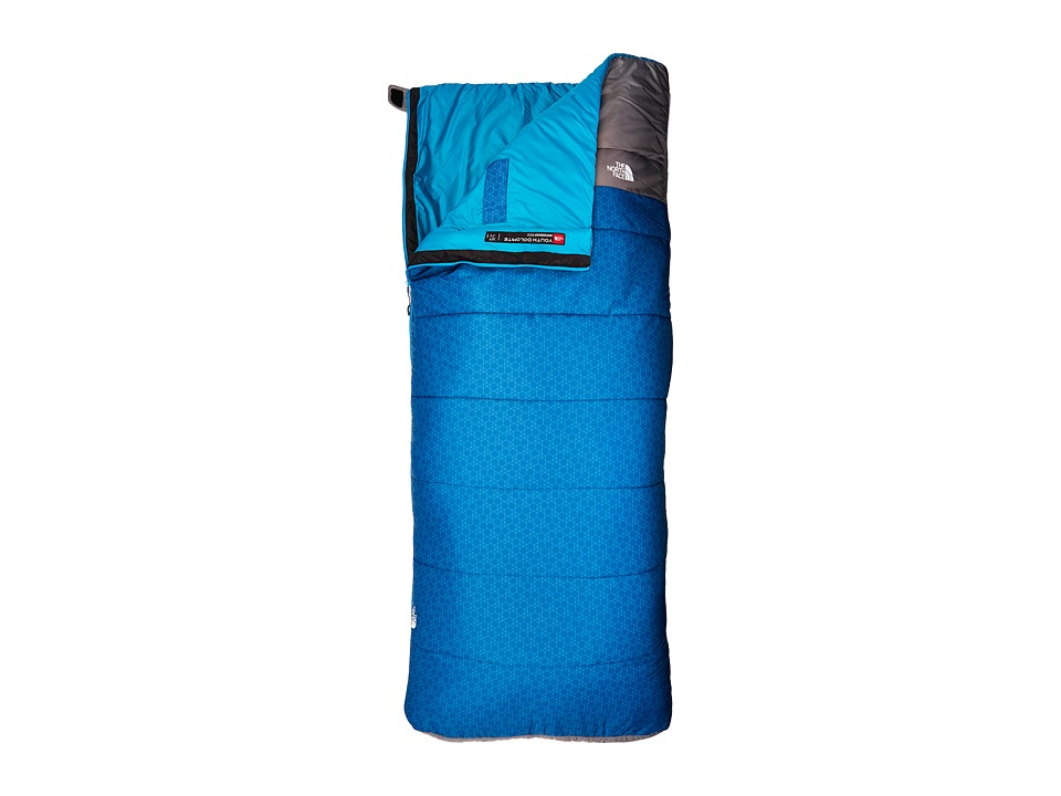 The North Face - Youth Dolomite 20/-7 (Regular) Sleeping Bag (Striker Blue/Zinc Grey 2) Outdoor Sports Equipment