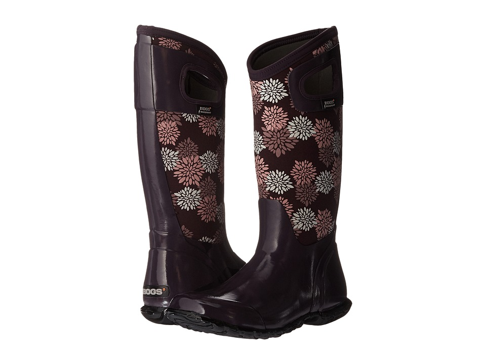 Bogs - North Hampton Pom Pons (Plum Multi) Women's Waterproof Boots