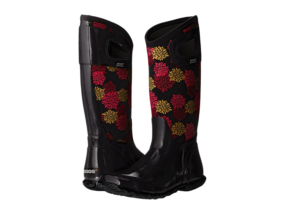 Bogs - North Hampton Pom Pons (Black Multi) Women's Waterproof Boots