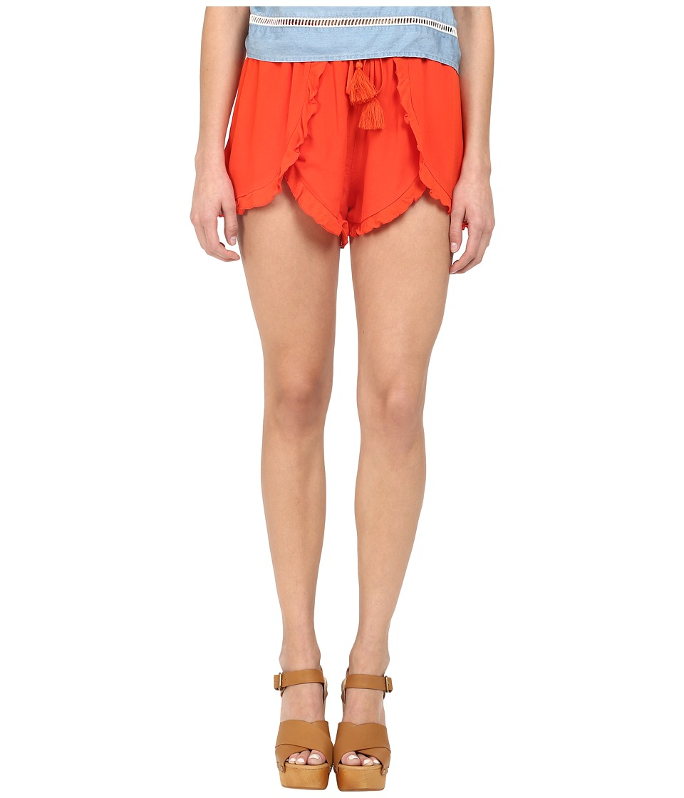 Lovers + Friends - Serene Shorts (Coral Reef) Women's Shorts