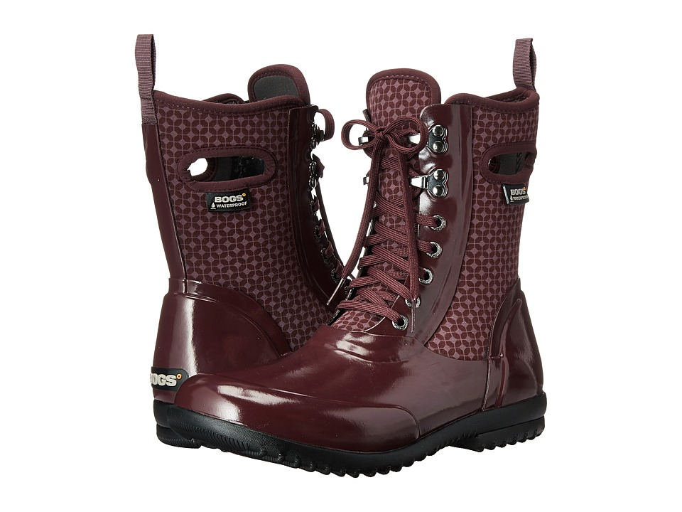 Bogs - Sidney Cravat (Eggplant Multi) Women's Waterproof Boots