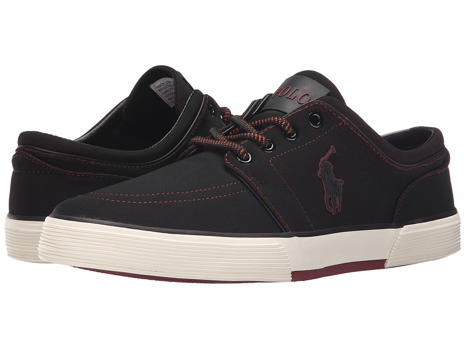 Polo Ralph Lauren - Faxon Low (Red Reflective Mesh) Men's Lace up casual Shoes