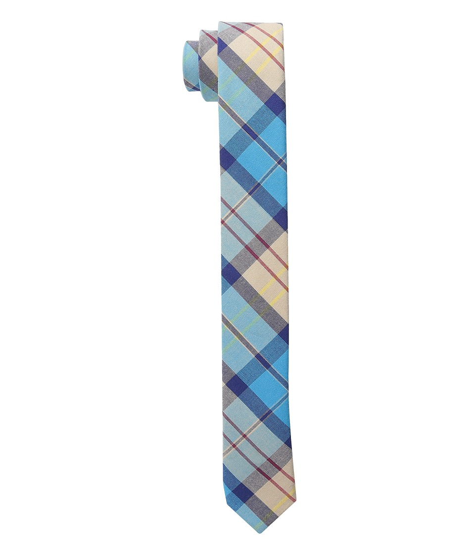 Appaman Kids - Skinny Tie (Little Kids) (Teal Plaid) Ties