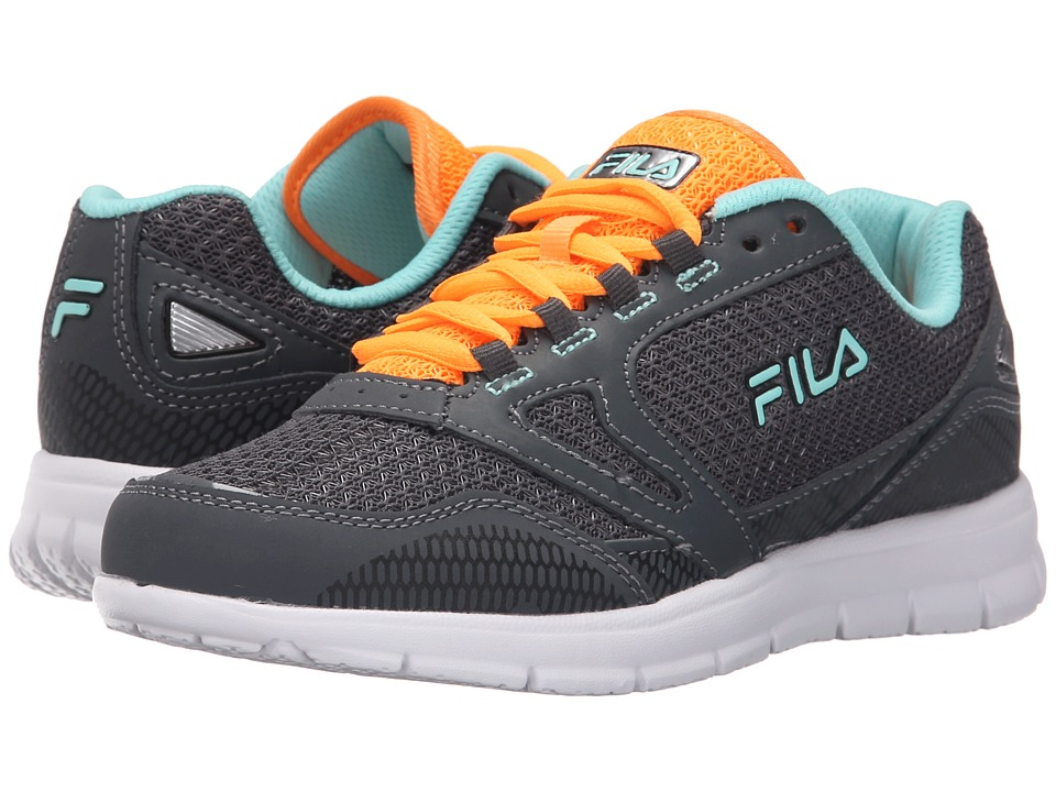 Fila - Direction (Castlerock/Castlerock/Neon) Women's Shoes