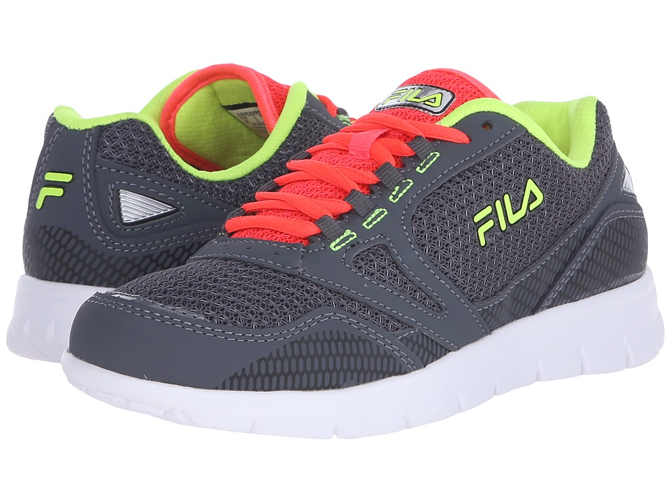 Fila - Direction (Castlerock/Diva Pink/Safety Yellow) Women's Shoes