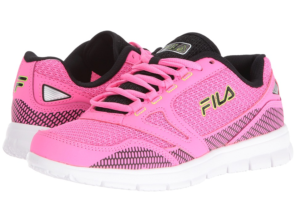 Fila - Direction (Neon Pink/Neon Gray/Black) Women's Shoes