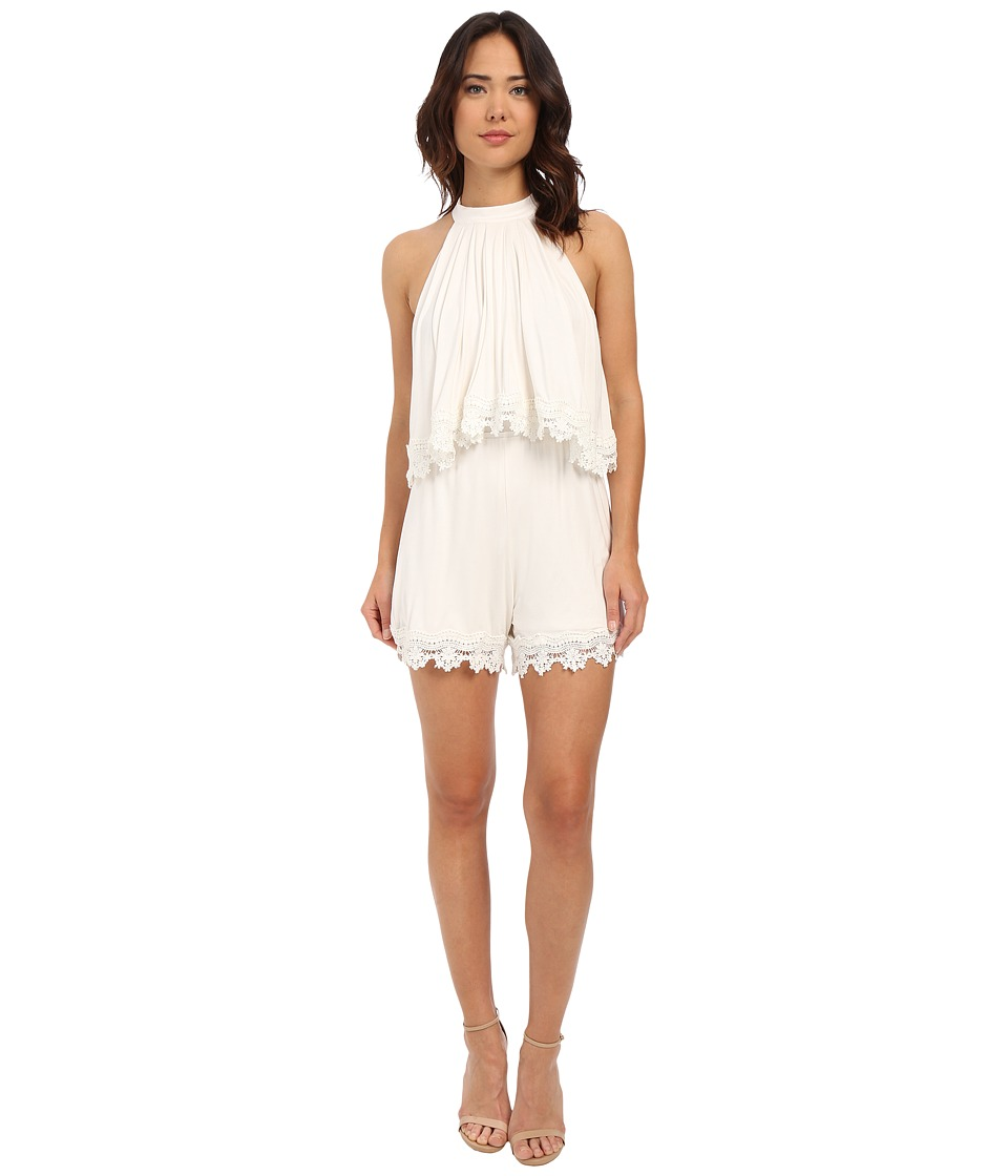 Lovers + Friends - Nicki Romper (Ivory) Women's Jumpsuit & Rompers One Piece