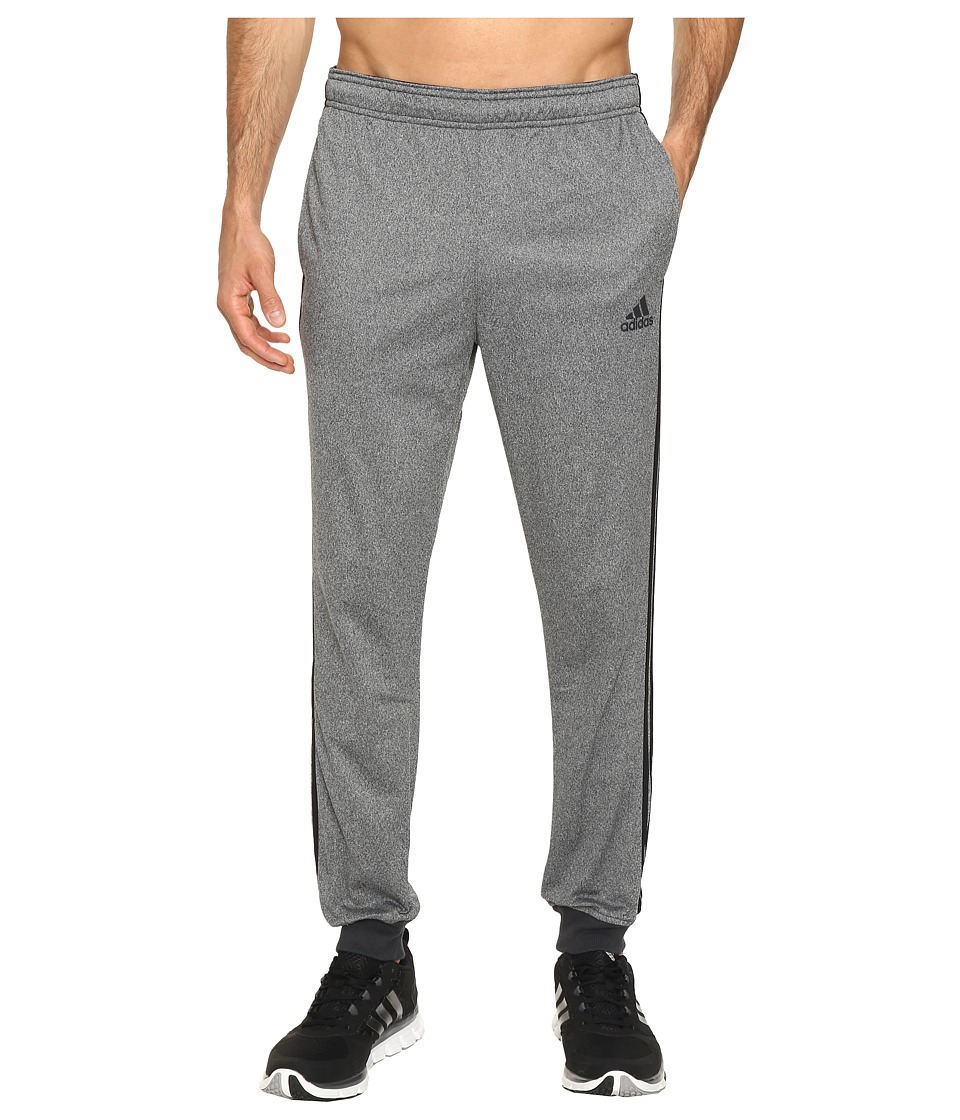 adidas - Essentials Tricot Jogger (Dark Grey Heather/Black) Men's Clothing