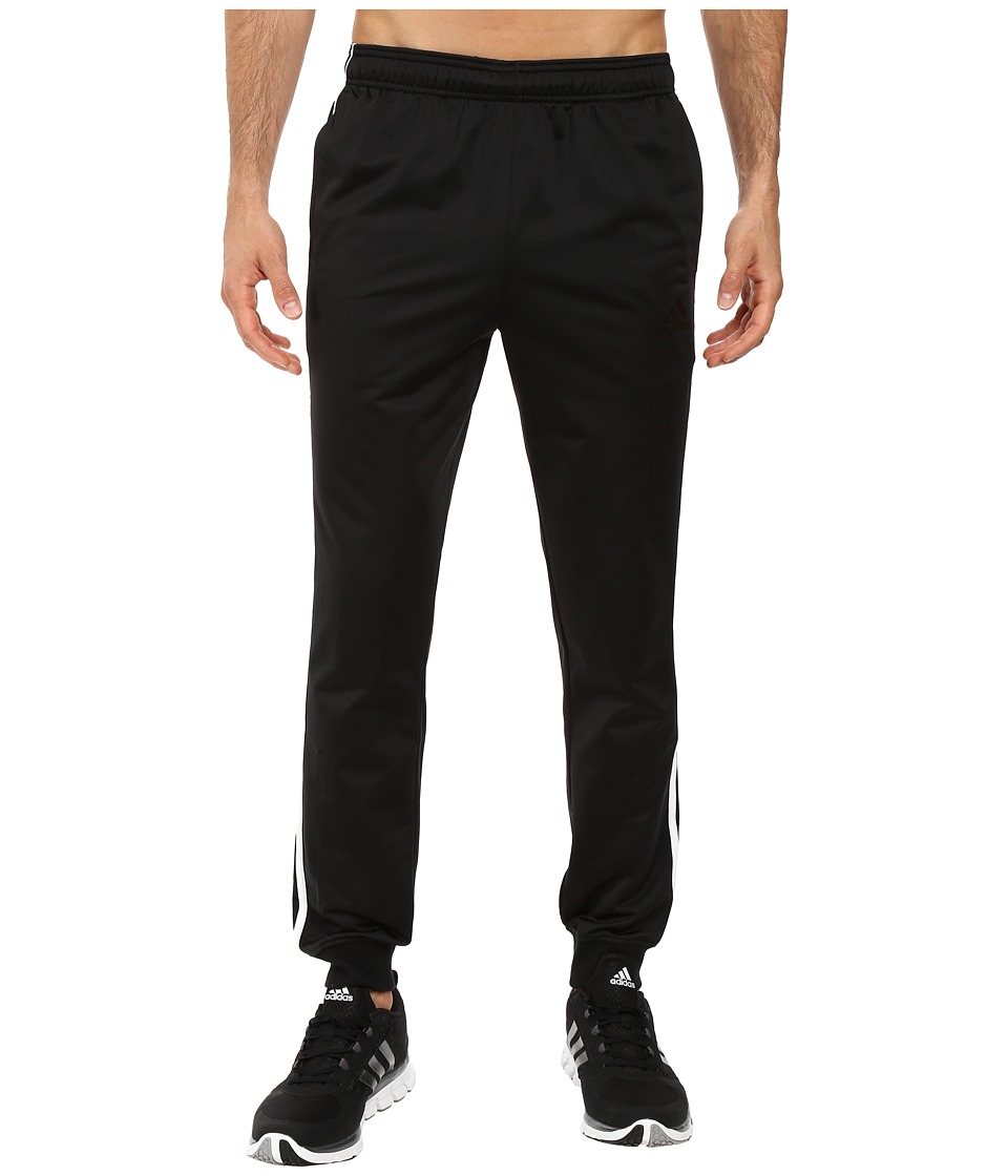adidas - Essentials Tricot Jogger (Black/White) Men's Clothing