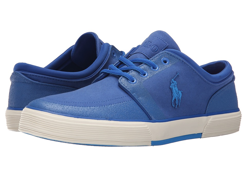 Polo Ralph Lauren Faxon Low (Royal Tech Nubuck) Men