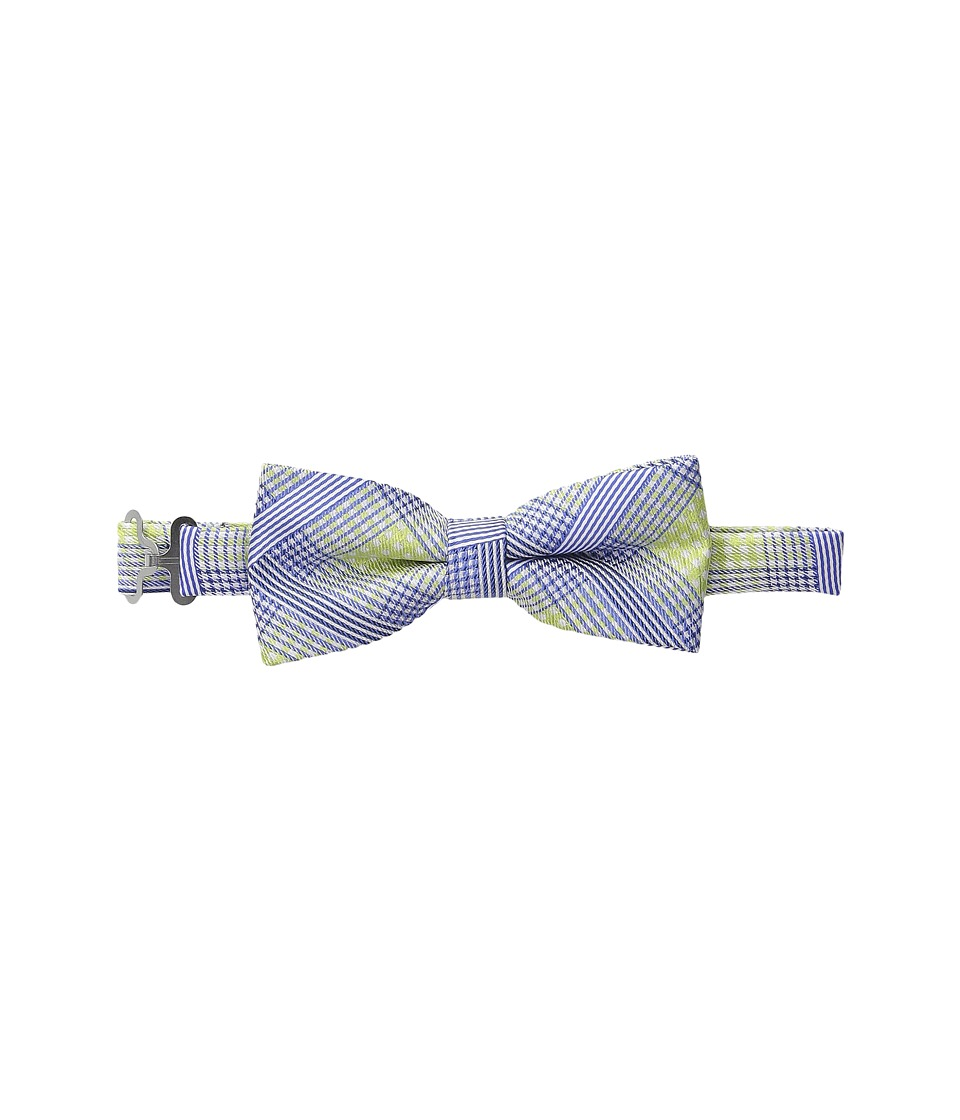 Appaman Kids - Adjustable Size Bow Ties (Little Kids) (Green Plaid) Ties
