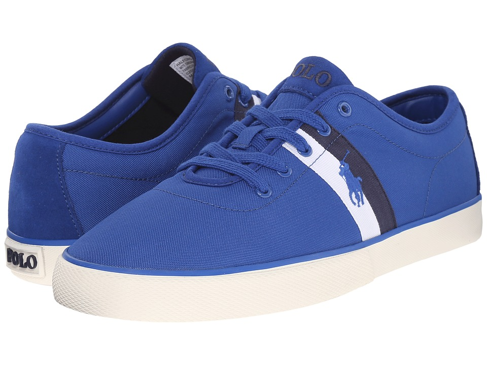Polo Ralph Lauren - Halford (Pacific Royal Matte Cordura/Sport Suede) Men's Lace up casual Shoes
