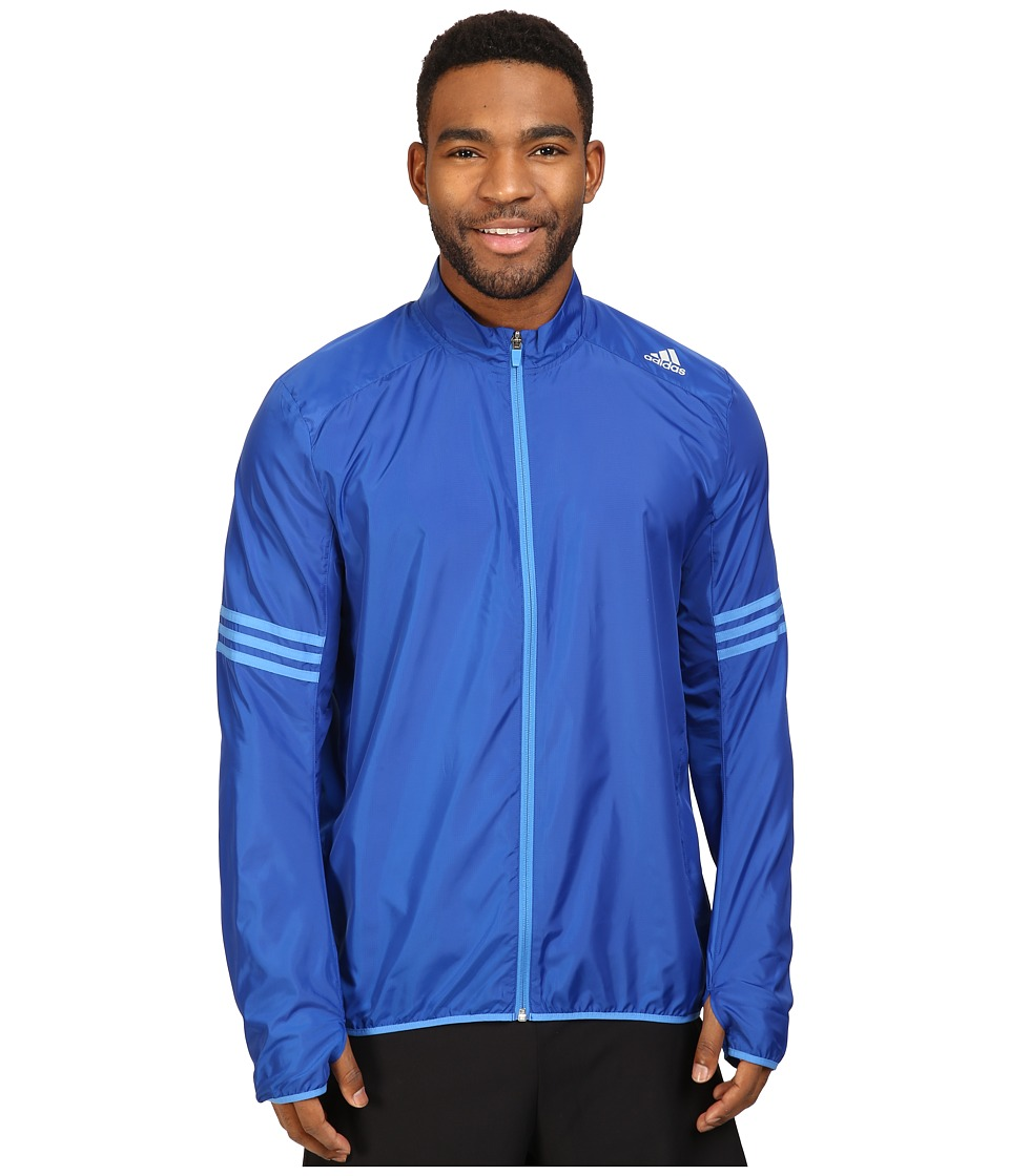 adidas - Response Wind Jacket (Collegiate Royal/Ray Blue) Men's Coat