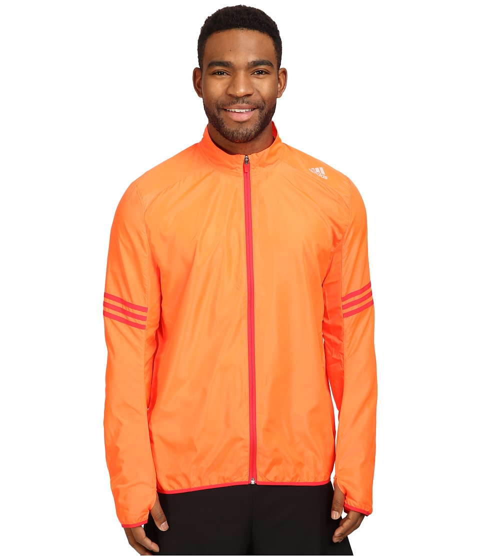 adidas - Response Wind Jacket (Solar Red/Ray Red) Men's Coat