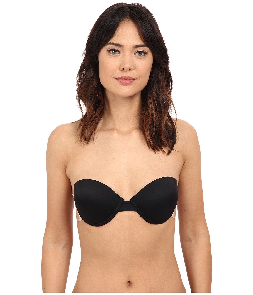 Fashion Forms - Go Bare Ultimate Boost Backless Strapless Bra (Black) Women's Bra