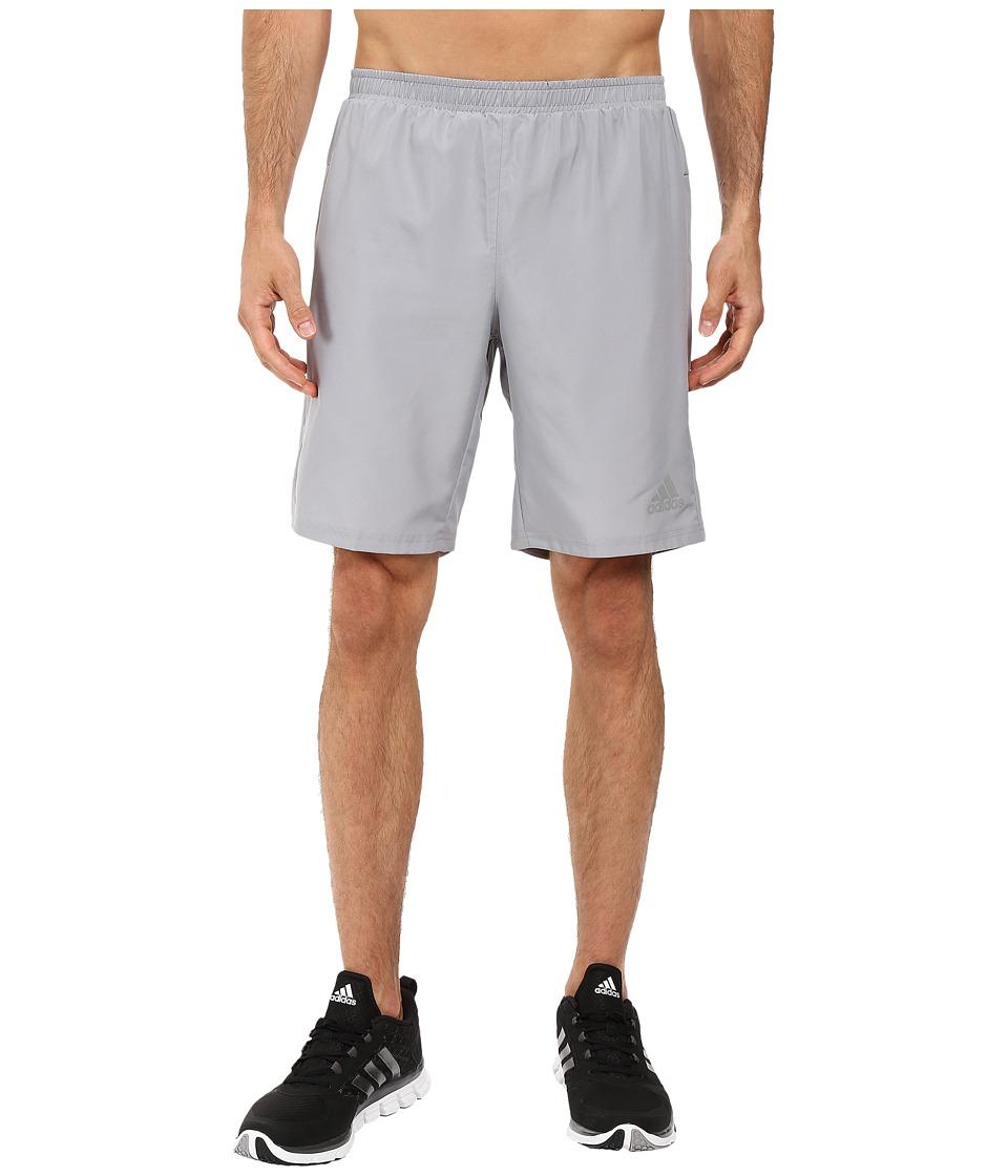 adidas - Sequencials Run Shorts (Mid Grey) Men's Shorts