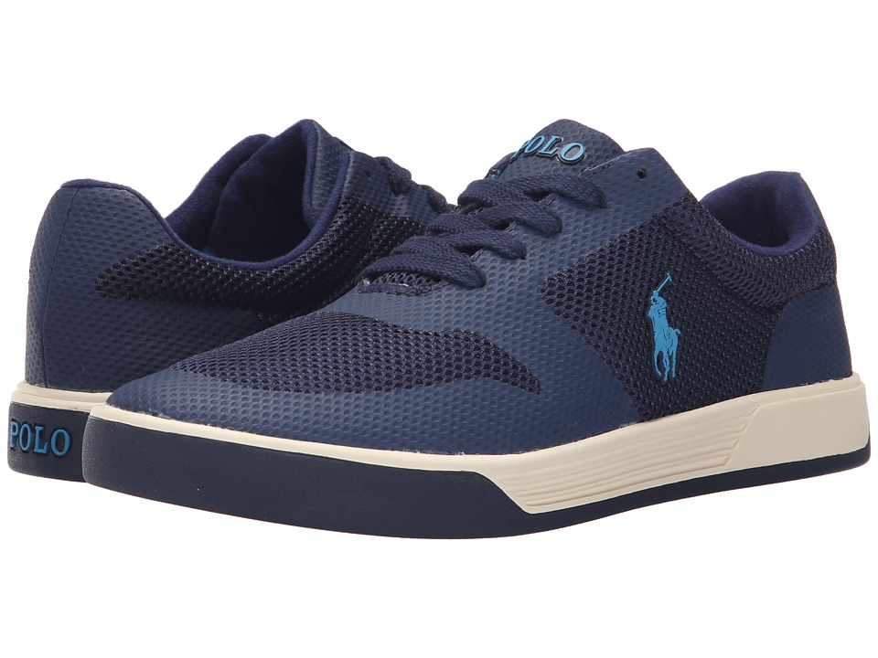 Polo Ralph Lauren - Hellidon (Newport Navy Sport Mesh) Men's Lace up casual Shoes
