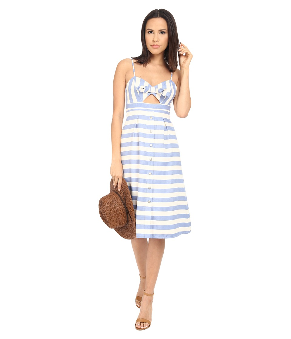 Lovers + Friends - Ocean Waves Dress (Nautical Stripe) Women's Dress