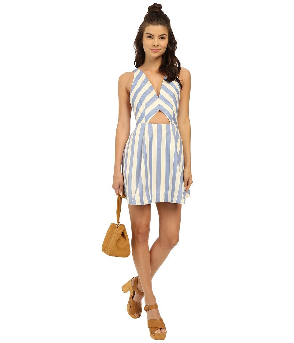 Lovers + Friends Honor Dress (Nautical Stripe) Women