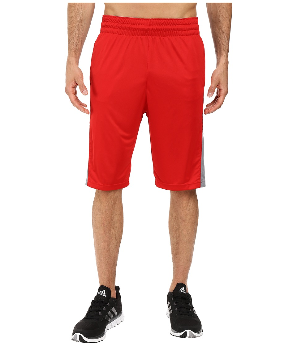 adidas - Team Speed Practice Shorts (Scarlet/Black) Men's Shorts
