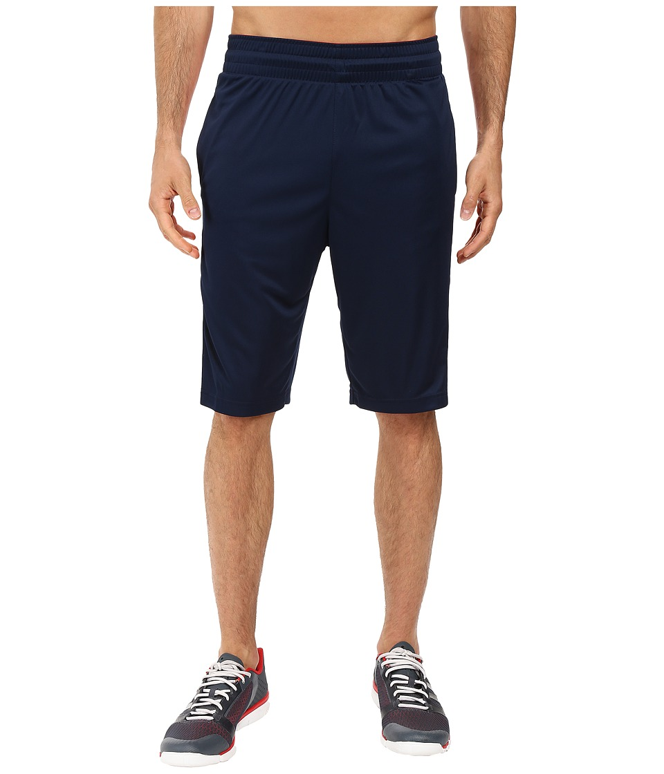 adidas - Team Speed Practice Shorts (Collegiate Navy/Scarlet) Men's Shorts