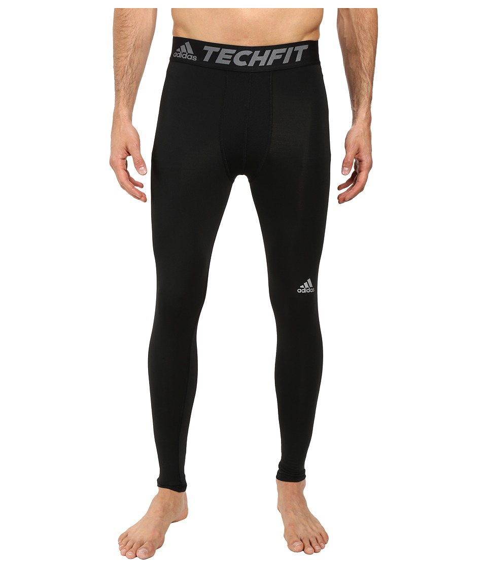adidas - Techfit Base Layer Long Tights (Black) Men's Casual Pants