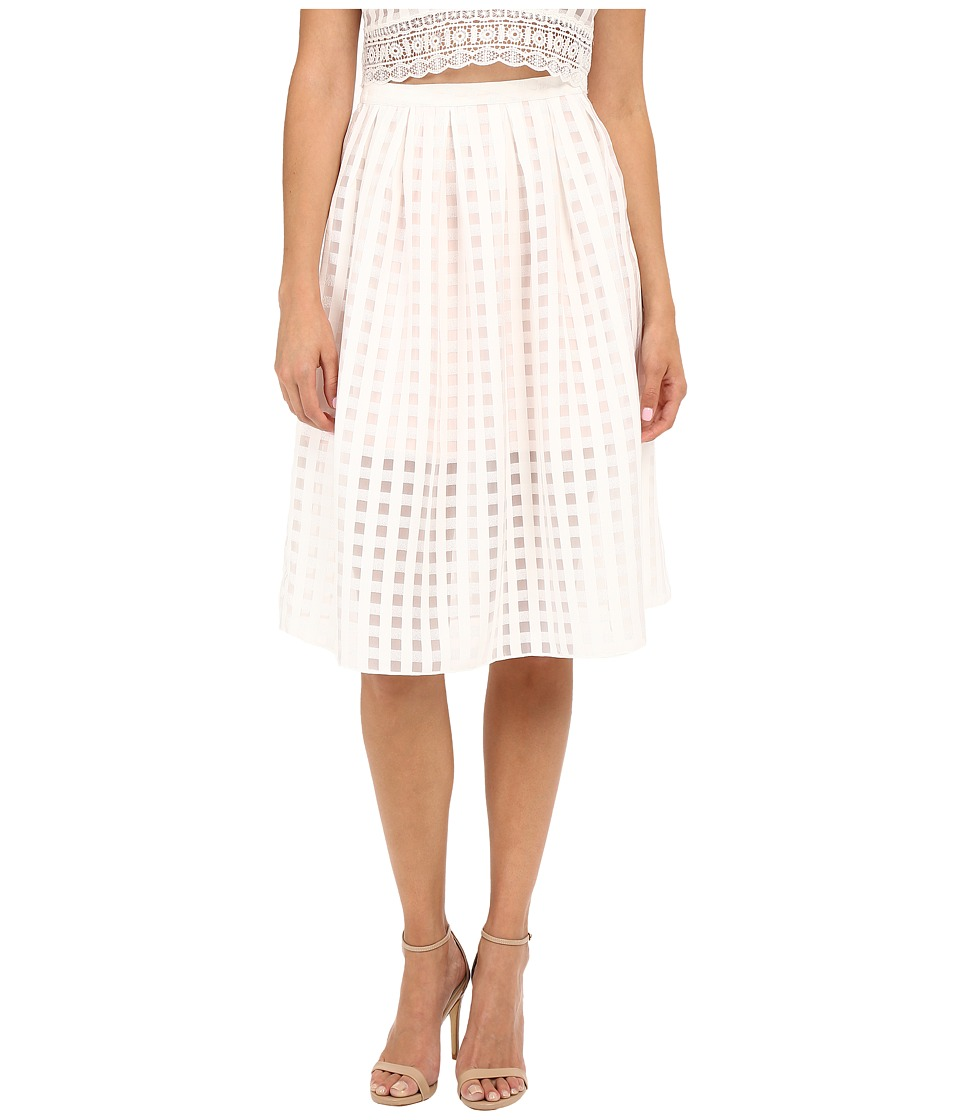 Lovers + Friends - Siesta Mini Skirt (Ivory) Women's Skirt