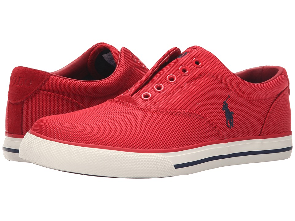 Polo Ralph Lauren - Vito (RL2000 Red Pique Nylon) Men's Lace up casual Shoes