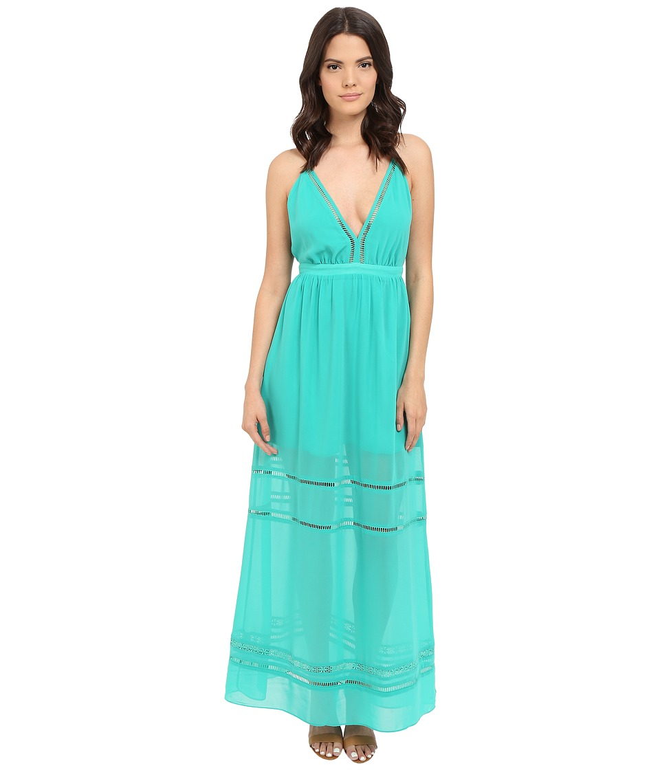 Lovers + Friends Lunar Maxi Dress (Turquoise) Women