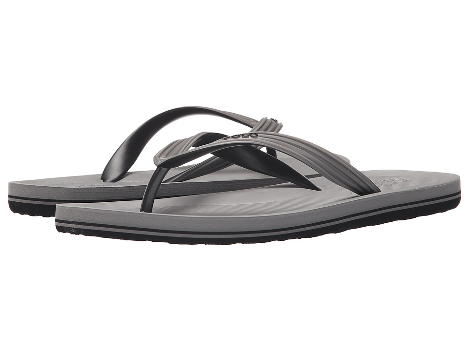 Polo Ralph Lauren - Whittlebury (Grey Multi Matte PVC) Men's Sandals