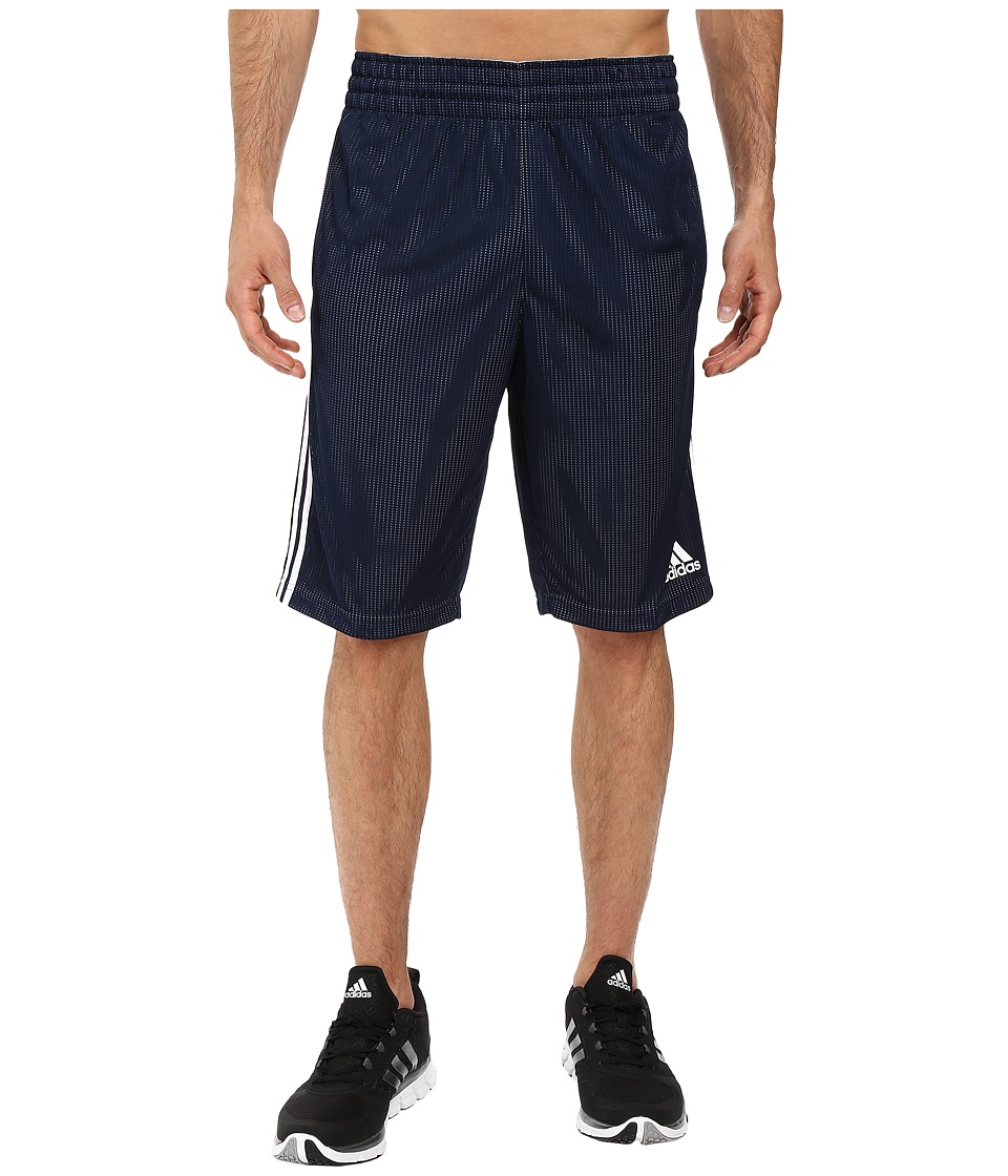 adidas - Triple Up Shorts (Collegiate Navy/White 1) Men's Shorts