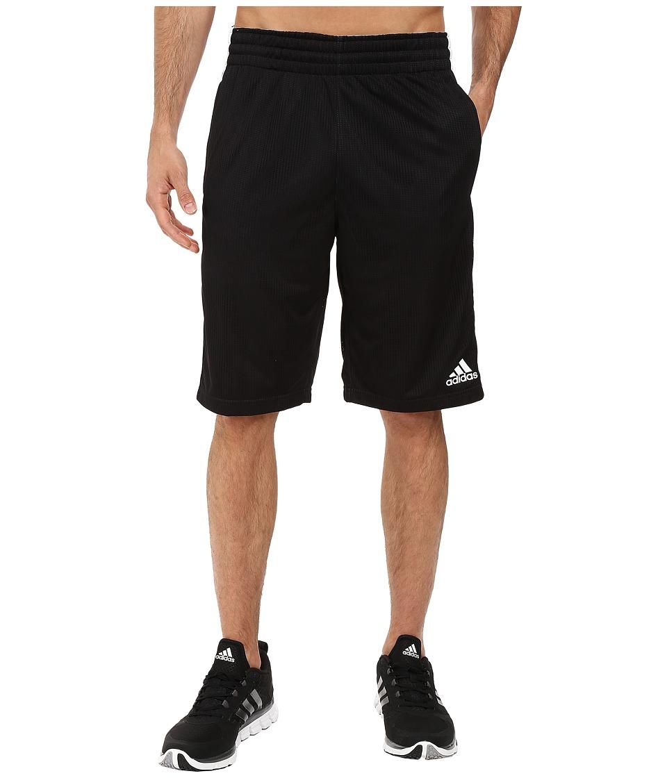 adidas - Triple Up Shorts (Black/Scarlet 1) Men's Shorts
