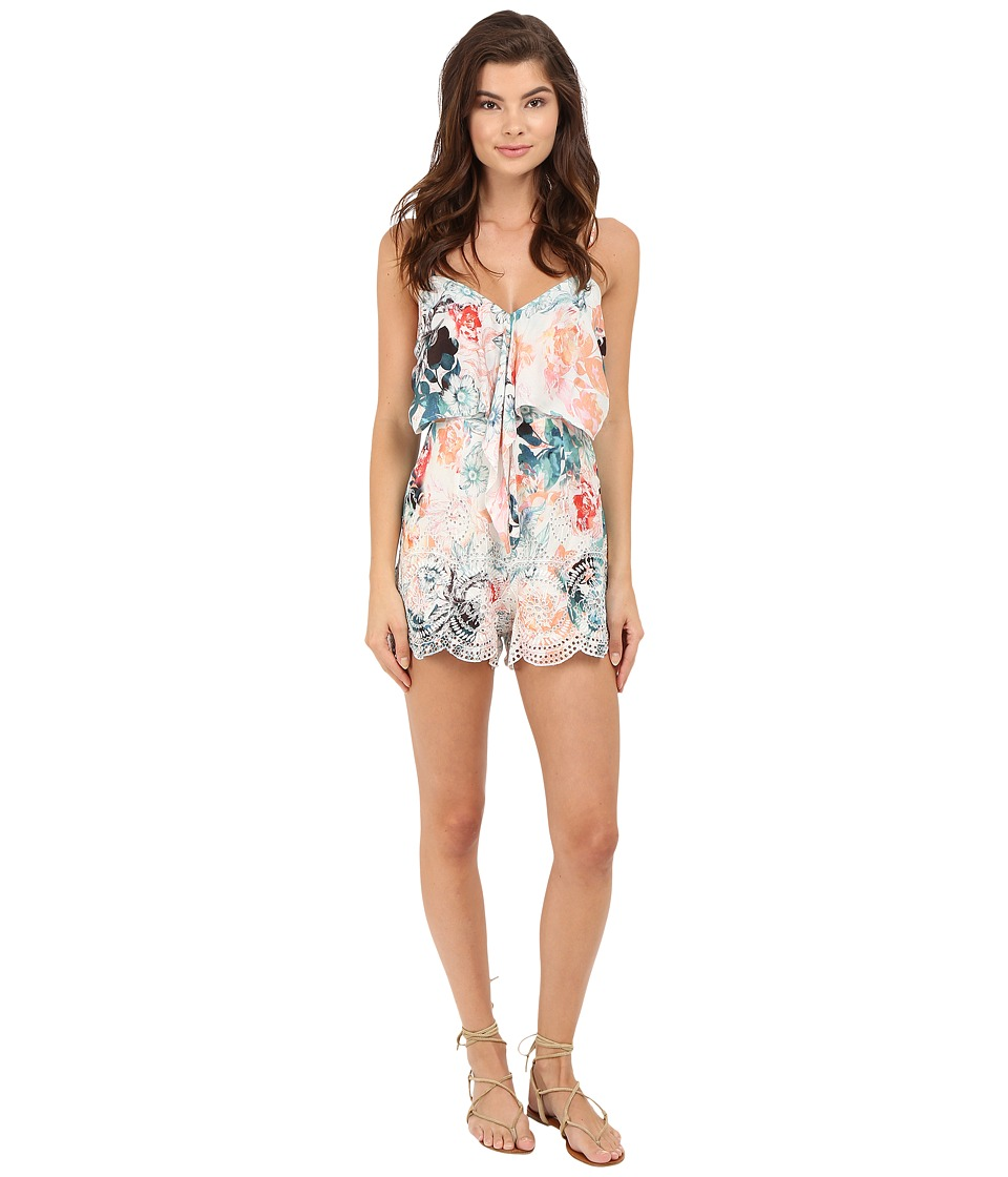 Lovers + Friends - Bello Romper (Ivory) Women's Jumpsuit & Rompers One Piece