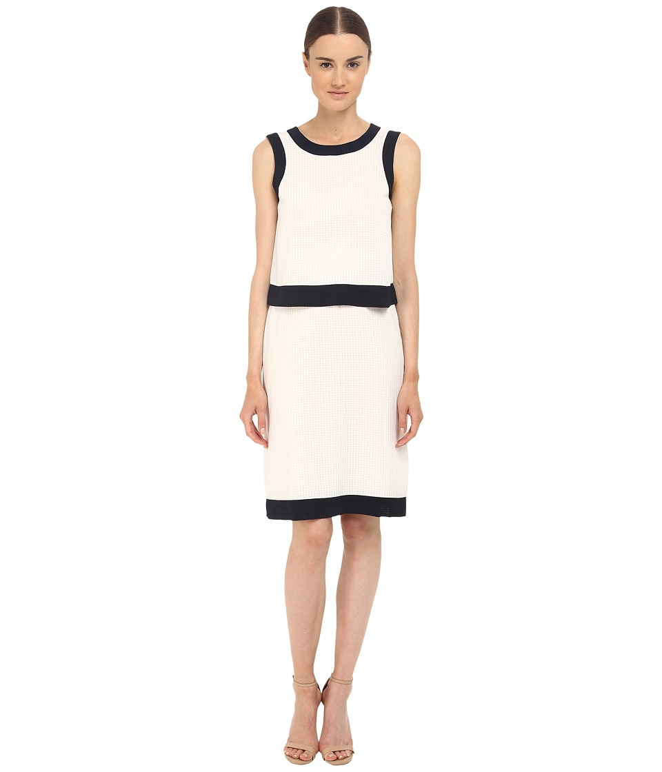 Armani Jeans - Poly Seer Sucker Dress (Beige Chiaro) Women's Dress
