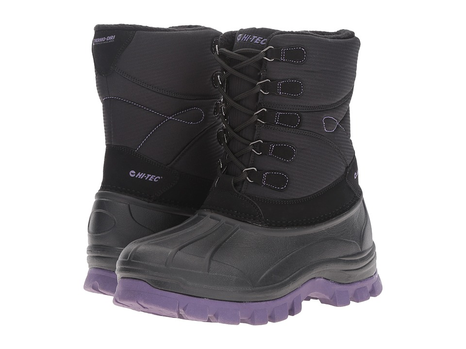 Hi-Tec - Niseko 200 (Black/Mulled Grape) Women's Shoes