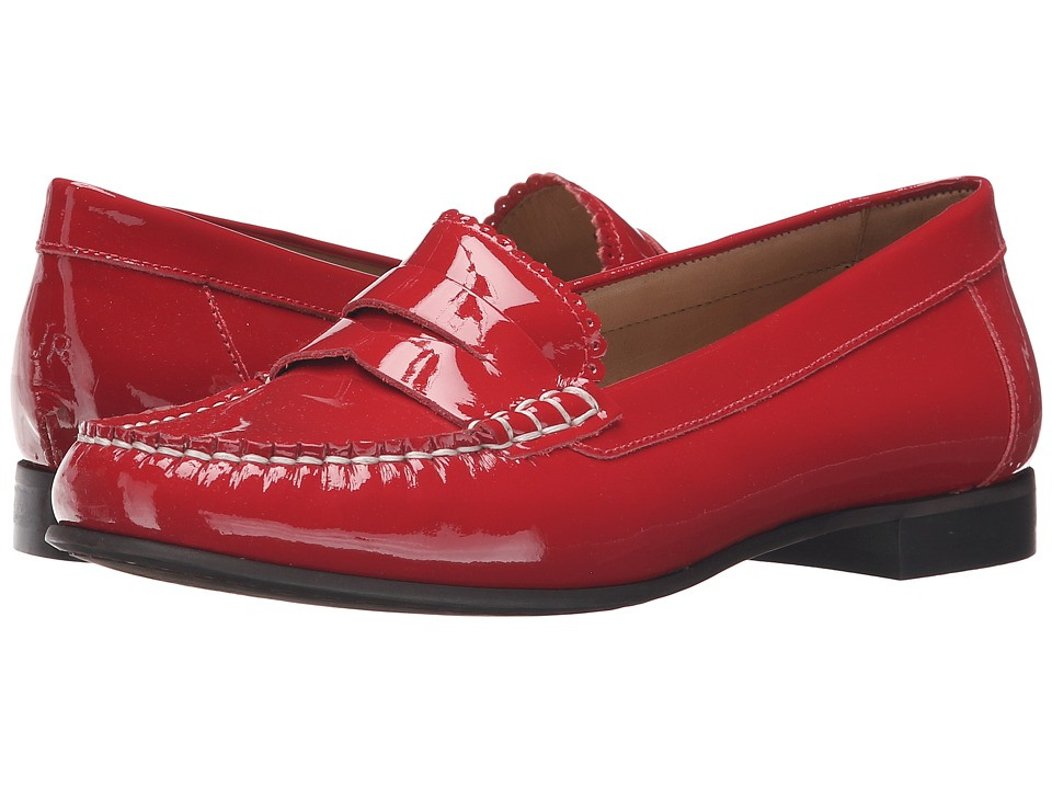 Jack Rogers Quinn (Red Patent) Women