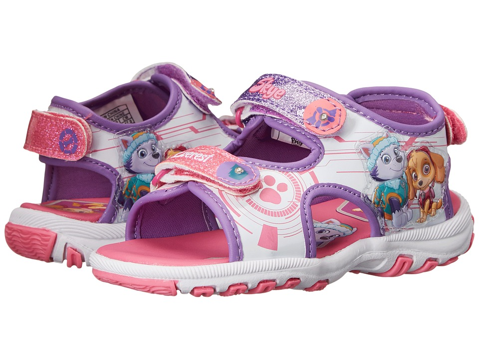 Josmo Kids - Paw Patrol Lighted Sandal (Toddler/Little Kid) (Pink/Purple) Girls Shoes