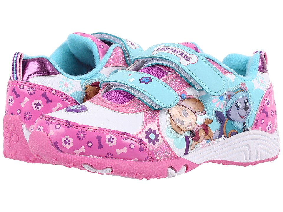 Josmo Kids Paw Patrol Sneaker (Toddler/Little Kid) (Purple/White) Girls Shoes