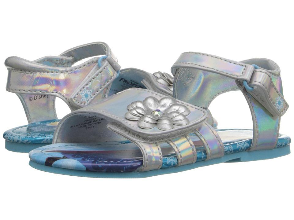 Josmo Kids Frozen HL Sandal (Toddler/Little Kid) (Silver/Blue) Girls Shoes