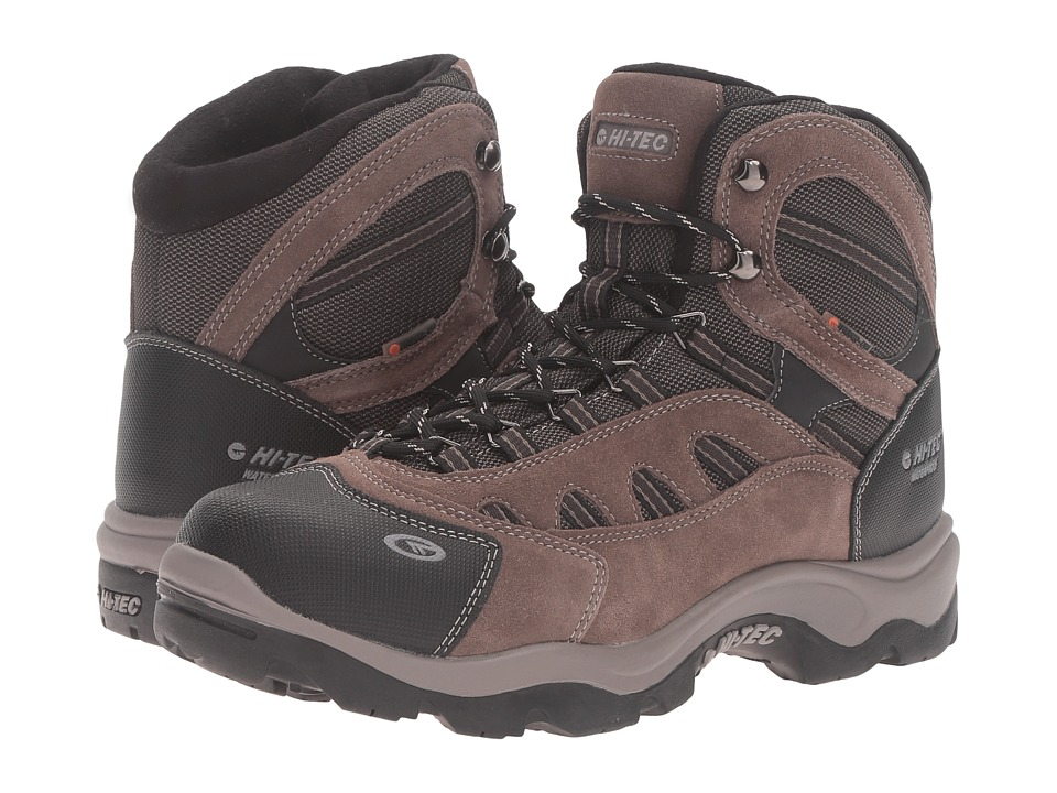 Hi-Tec Bandera Mid 200 Waterproof (Dark Chocolate/Bungee/Warm Grey) Men