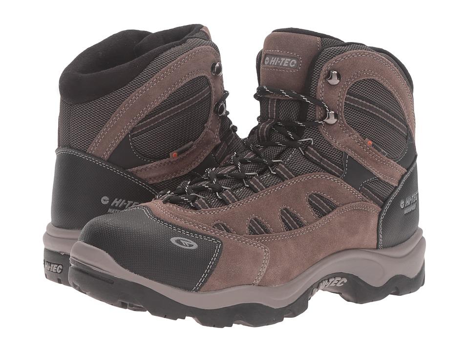Hi-Tec - Bandera Mid 200 Waterproof (Dark Chocolate/Bungee/Warm Grey) Men's Shoes