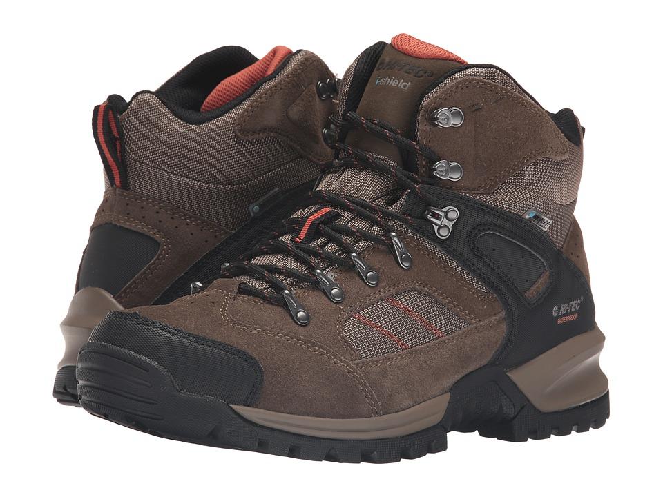 Hi-Tec Mount Diablo I Waterproof (Smokey Brown/Red Rock) Men