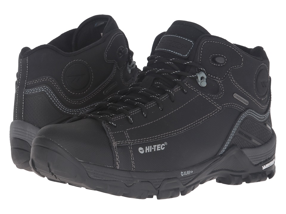 Hi-Tec - Trail OX Chukka I Waterproof (Black/Goblin) Men's Shoes