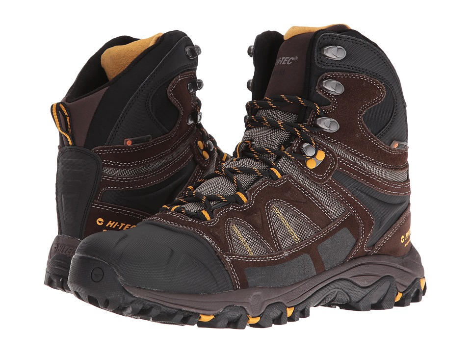 Hi-Tec - Altitude Lite 200 I Waterproof (Dark Chocolate/Bungee/Gold) Men's Shoes