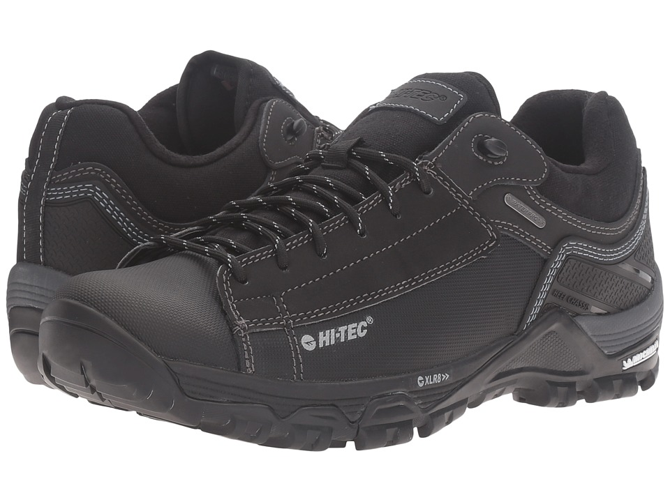 Hi-Tec - Trail OX Low I Waterproof (Black/Goblin) Men's Shoes
