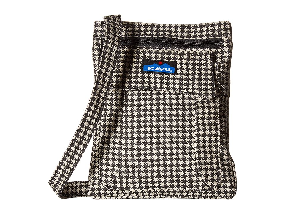 KAVU - Keeper (Houndstooth) Cross Body Handbags
