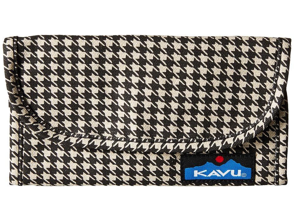 KAVU - Big Spender (Houndstooth) Wallet Handbags