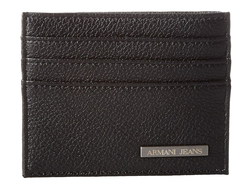 Armani Jeans - Eco Leather Porta Carte (Black) Bags
